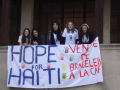 Collégiens solidaires: vente de bracelets