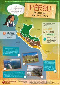 Pérou: du cacao pour une vie meilleure. Dès 8 ans