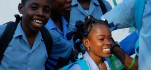 Accord tripartite pour les droits de l'enfant en Haiti