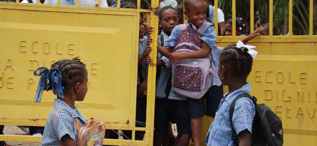 Assurer l'accès de toutes et tous à une éducation de qualité
