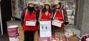 Recherche de bénévoles pour la vente de mouchoirs les 8 et 9 mars