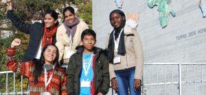 7 jeunes leaders de 6 pays témoignent à Genève pour les 30 ans des droits de l'enfant