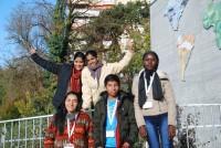 Des membres du Conseil des jeunes de Terre des Hommes Suisse  Souad von Allmen