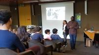 Les élèves participent au débat||Souad von Allmen