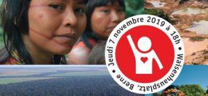 SOS Brésil: rdv le 7 nov. à Berne