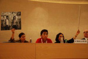 Les jeunes portent leurs revendications sur la scène internationale