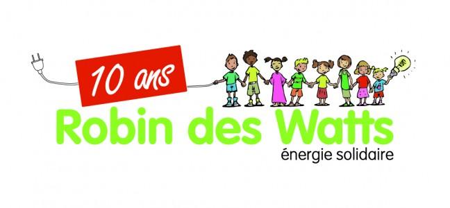 Robin des Watts fête 10 ans d'énergies solidaires!