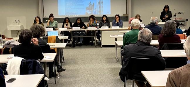 Table ronde sur les mobilisations citoyennes en Amérique latine: public nombreux au rendez-vous