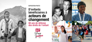 Exposition « D'enfants bénéficiaires à acteurs de changement » du 1er au 31 octobre 2020