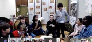 Première conférence des enfants en Suisse romande
