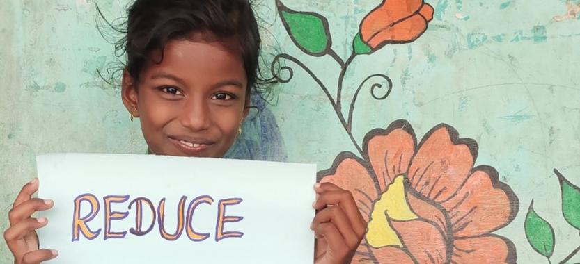 Les enfants sont en première ligne pour subir les effets du changement climatique