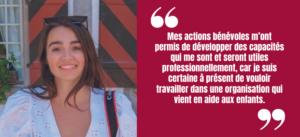 Pour la Journée mondiale des compétences des jeunes, découvrez l'engagement de Fanny !
