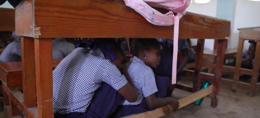 Haïti : Apprendre les « gestes qui sauvent » aux enfants