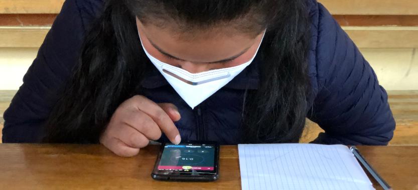 La messagerie instantanée au service de l'éducation à distance: Une expérience innovante de Terre des Hommes Suisse au Pérou